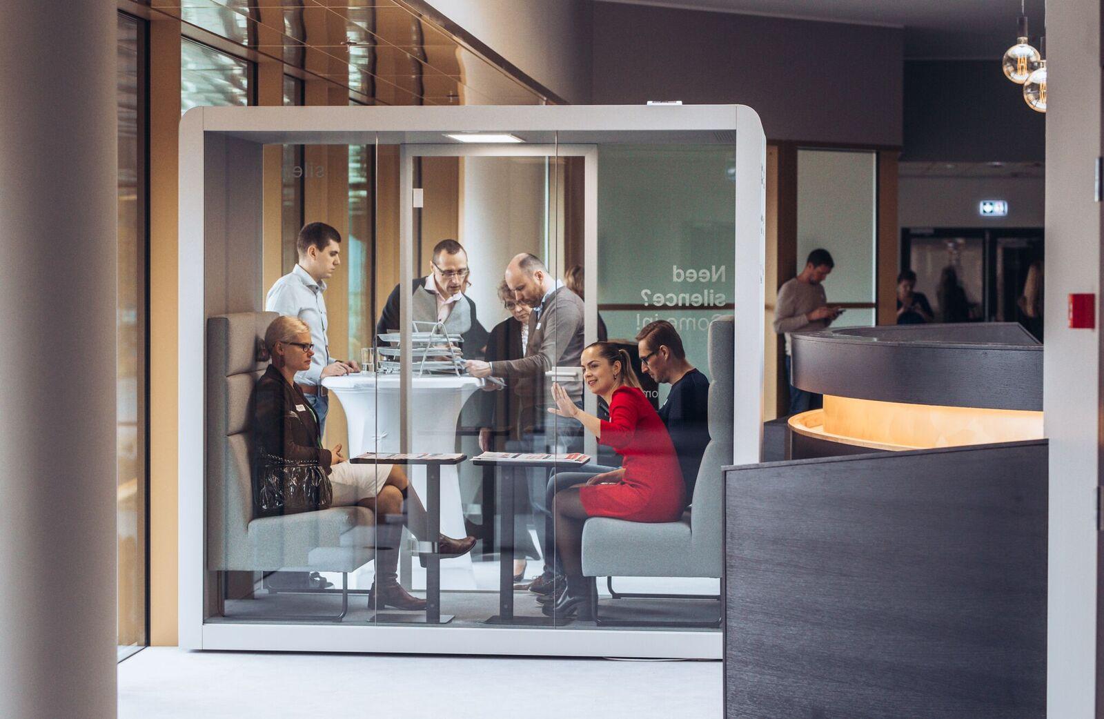 Smart mødeboks til kontoret