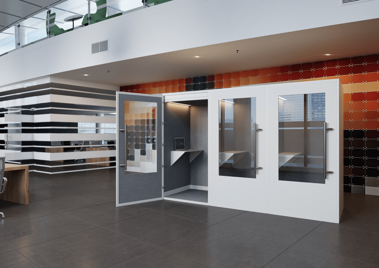 Lydboks - en lydtæt boks til kontoret